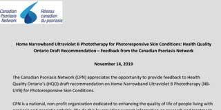 Home Narrowband Ultraviolet B Phototherapy